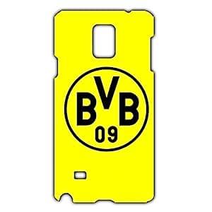 Unique Design FC Borussia Dortmund 09 FC Phone Case Cover For Samsung Galaxy Note 4 3D Plastic Phone Case