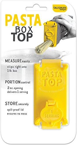 Top Pasta (Talisman Designs Pasta Top, Pasta Portion Control and Storage)