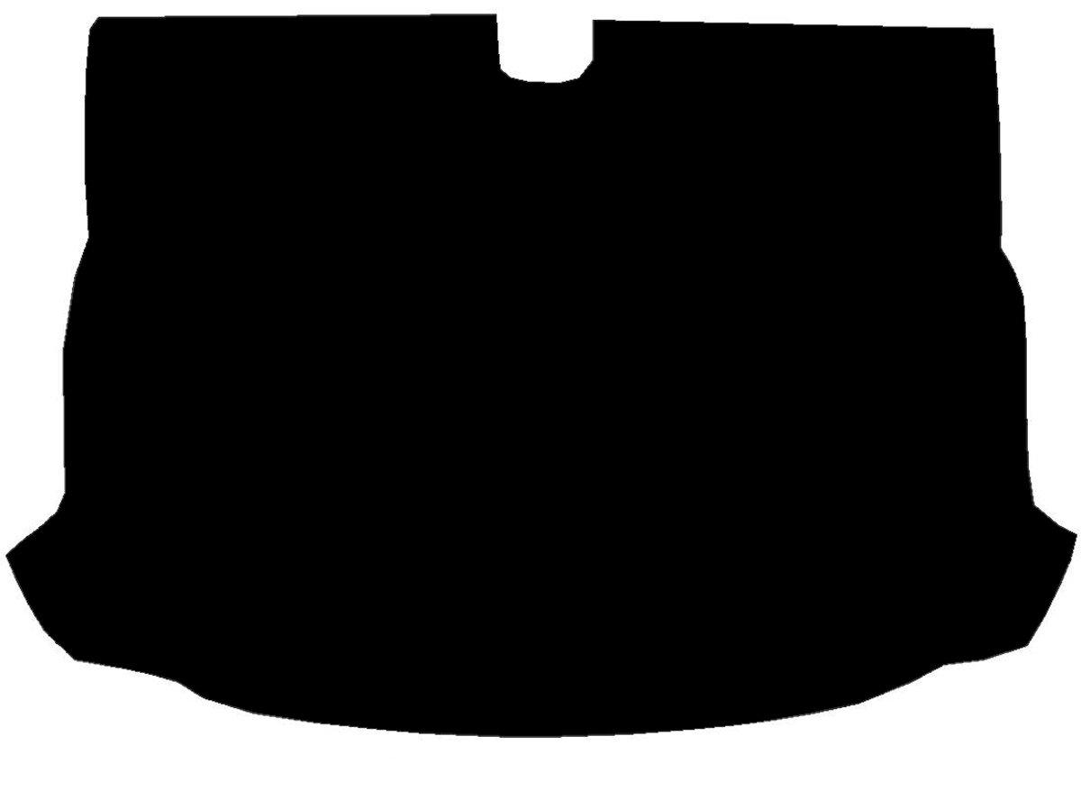 Sakura WW1523 Rubber Boot Mat, Black Trim Saxon