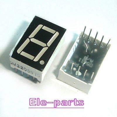 Common Cathode 7 Segment Led Display - FidgetGear 20 PCS 1 Digit 0.56