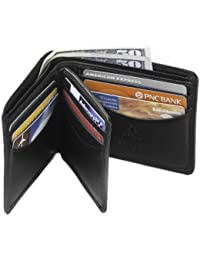 Heritage 17 Bifold Mens Soft Leather ID Card Case Wallet