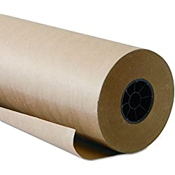"Brown Kraft Paper Roll 48""x2400"" 200FT Long 