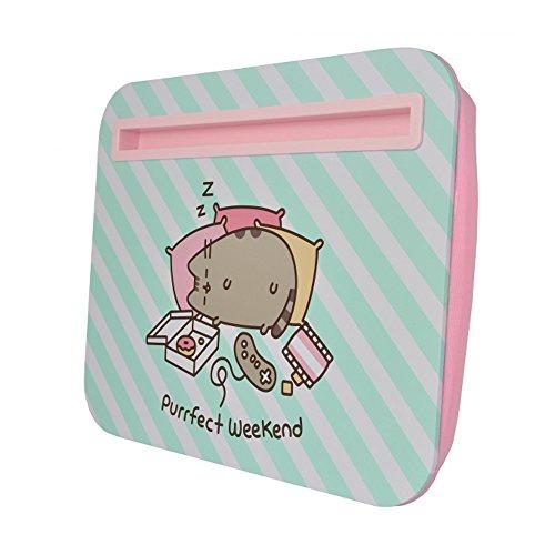 Jual Pusheen The Cat Purrfect Weekend Desk Tray Cute Lap Desk Inspiration Pusheen Purrfect Weekend Throw Blanket