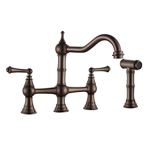 Best bridge faucet kitchen bronze to buy in 2019