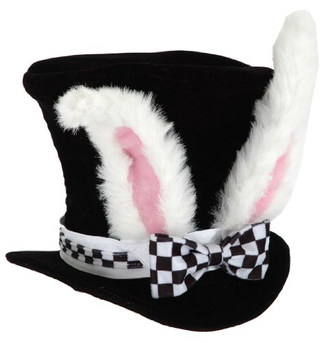 White Rabbit Costume Ladies (White Rabbit Hat Costume Accessory)