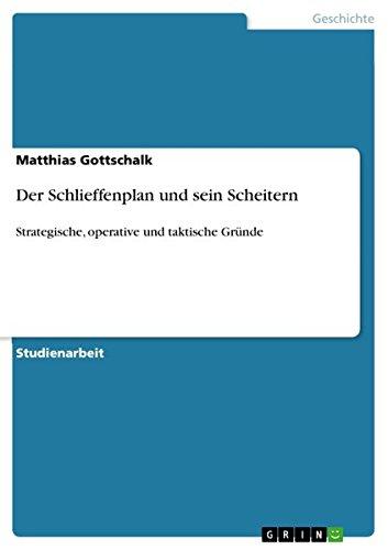 Download Der Schlieffenplan und sein Scheitern (German Edition) pdf epub