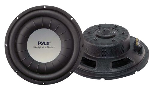 Pyle PLWCH12D 12-Inch 1,200-Watt Ultra Slim DVC Subwoofer