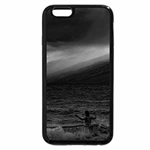 iPhone 6S Case, iPhone 6 Case (Black & White) - FIRE ON THE MOUNTAIN