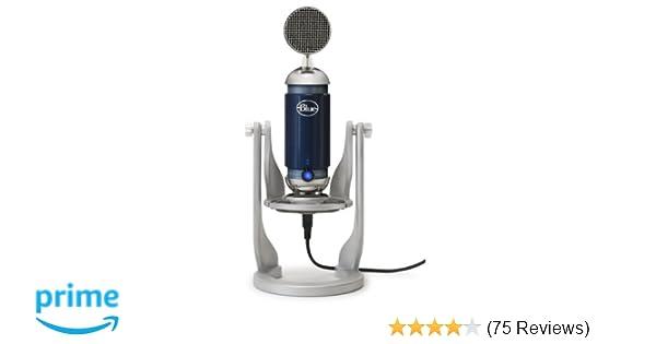 Blue Microphones Spark Digital Lightning Microphone condensateur avec  connecteur Lightning pour Apple Bleu