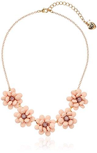 Betsey Johnson Marie Antoinette Flower Necklace, 16