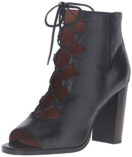 FRYE Womens Gabby Ghillie Dress Sandal Black
