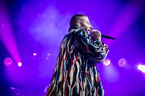 Unique Posters Macklemore American Rapper Singer Songwriter 12 x 18 Inch Quoted Multicolour Rolled Poster UPMA487