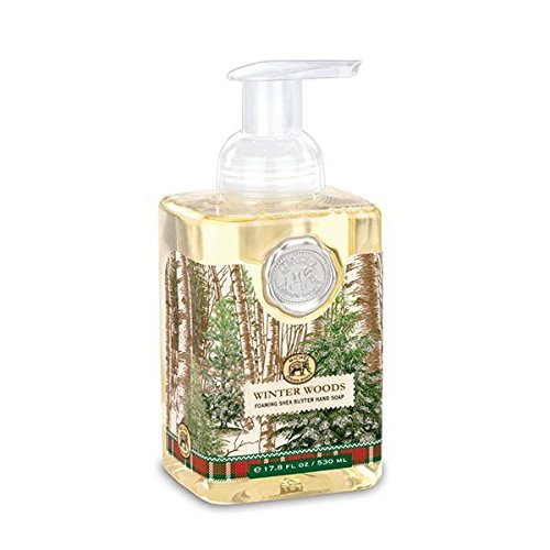 Michel Design Works Scented Foaming Hand Soap, Winter Woods