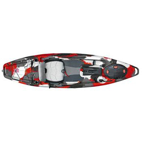 Feel Free Lure 10 Fishing Kayak 2016 - 10ft/Red Camo