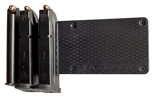 Magnetic Ammunition Holder For Gun Magazines And Clips. Mount In Your Gun Safe, Locker, Cabinet, Vault. The Ultimate Ammo Storage Accessory For Handgun, Pistol And Rifle Mags. - 338 Winchester Magnum Rifle
