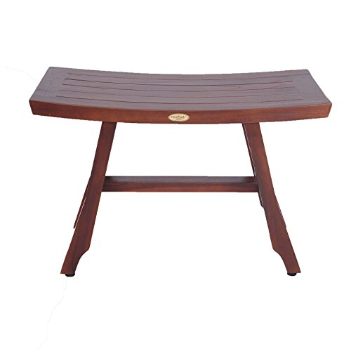 DecoTeak Satori 28'' Eastern Style Teak Shower Bench by Decoteak