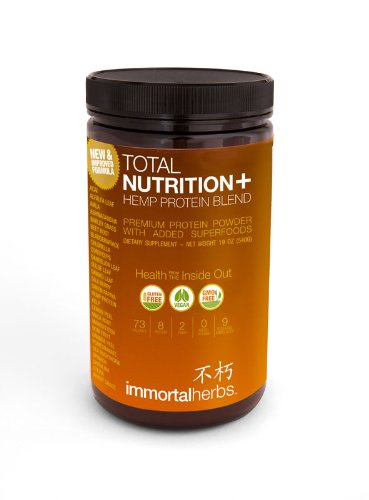 Total Nutrition Plus: Hemp Protein Powder Blend Review