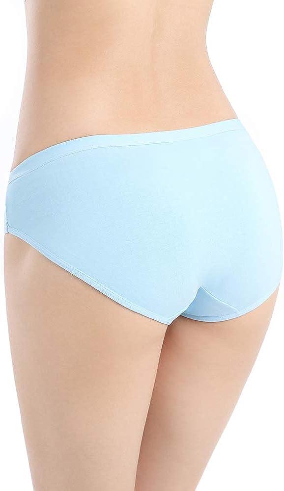 Closecret Il Confortevole Bikini Mutandine in Cotone di Donne