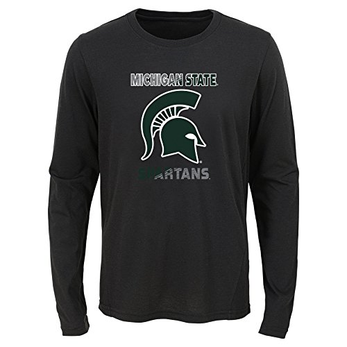 - Gen 2 K N8 487IX 59-S-59-Youth Boys S(8) NCAA Michigan State Spartans Youth Boys Flux Long Sleeve Ultra Tee, Multi, Youth Small(8)
