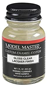 Gloss Clear Model Master Lacquer 1oz Bottle