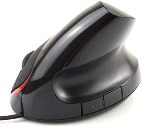 5D Optique Filaire Gaming Mouse avec USB Portable 1200Dpi 2.4GH Ergonomique Vertical Souris Verticale pour PC De Bureau Ordinateur Portable