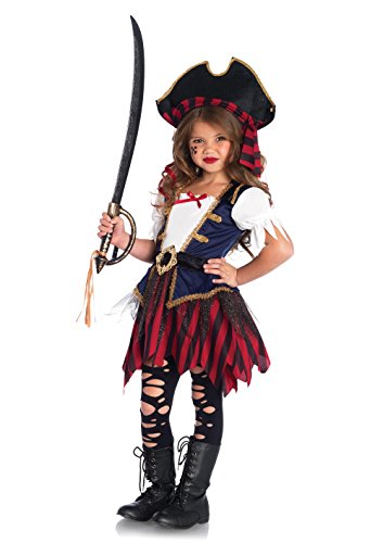 [Leg Avenue Children's Caribbean Pirate Costume] (Pirates Kids Costumes)