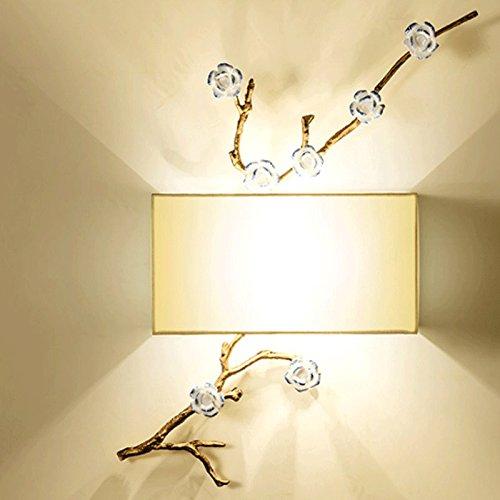 Chinois Chambre Chevet Fer Applique Murale Salon Lampe Forgé Étude YW9H2EDI