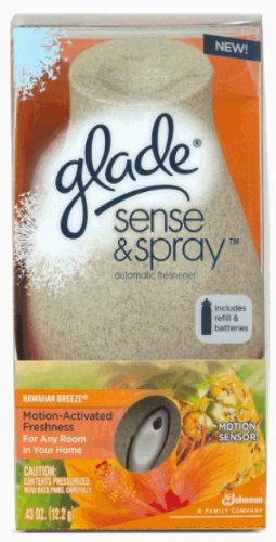 Glade Sense and Spray Starter *New Design* Hawaiian Breeze, 0.43-Ounce