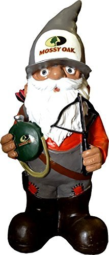 Forever Collectibles Entertainment Mossy Oak Garden GnomeHunter with Crossbow, Team Colors, One Size