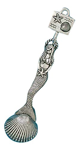 Pewter Scoop - Basic Spirit Pewter Mermaid Coffee Measuring Scoop Kitchen Decor Collectible