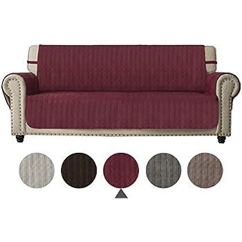 Amazon Com Ameritex Sofa Cover Slip Resistant Sofa