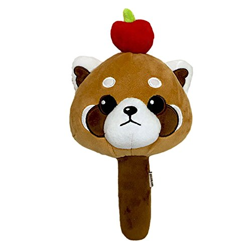 Lesser Panda Plush Toy Hand Mirror Kids Dolls Animal Toys by ToyFactory