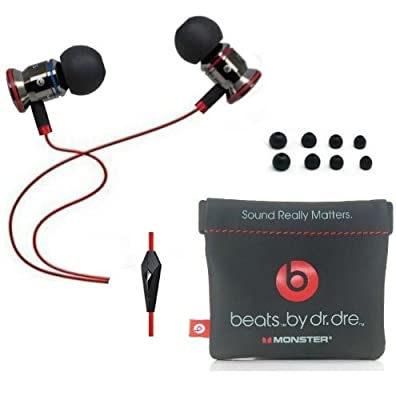 Beats By Dr Dre Monster Ibeats In-ear Headphones w/ Control Talk - Black