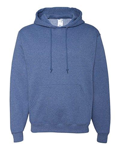 Golf Vintage Sweatshirt (Jerzees 8 oz. NuBlend 50/50 Pullover Hood, Vintage Hth Blue - XXXX-Large)