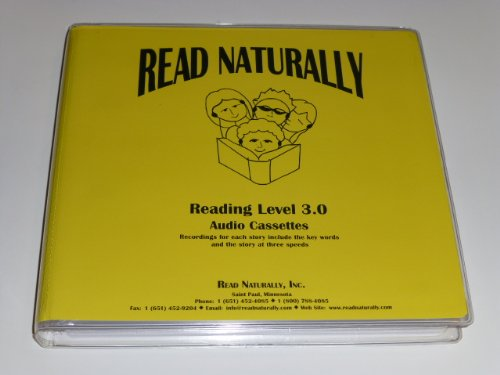 Read Naturally Level 3.0 12 cassettes in case - Eel Cobra
