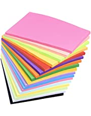 Origami Colored Paper, 500 Pcs 7 * 7cm Square Double Sided Color Peper for Beginner to Make Folding, Origami Crane Craft, DIY Handmake Craft