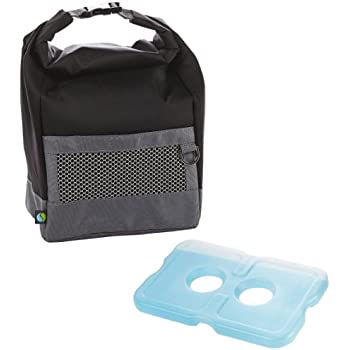 Amazon Com Fit Amp Fresh Mens Sporty Insulated Lunch Bag