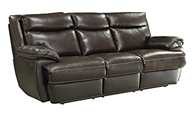 Coaster Home Furnishings 601811 Macpherson Motion Collection Motion Sofa, Cocoa Bean