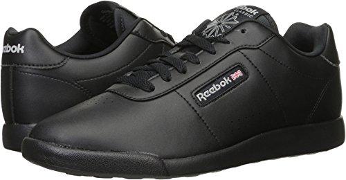 Reebok Women's Princess Lite Classic Shoe, Black, 8 W US (Womens Reebok Shoes)