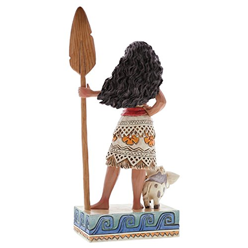 Enesco 4056754 Disney Traditions by Jim Shore Moana Figurine, 6.56 , Multicolor