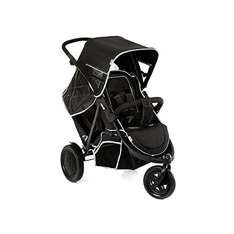 Hauck Freerider SH12 - Silla de paseo gemelar para gemelos o hermanos de diferentes edades desde 0 meses hasta 15 kg, sistema de arnés de 5 puntos, ...