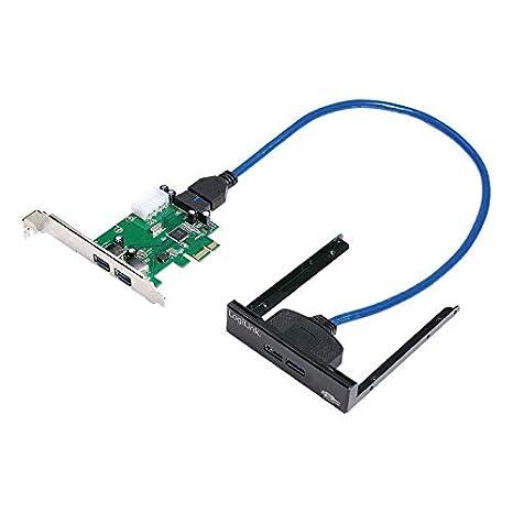 LogiLink PC0058 - Tarjeta de Puerto USB 3.0 (Incluye PCI ...
