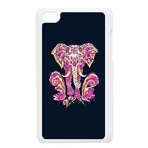 Apocalypse elephant iPod Touch 4 Case White SUJ8503351