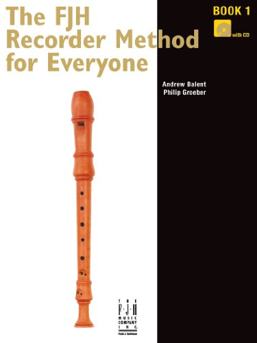 The FJH Recorder Method for Everyone Book 1