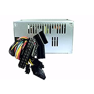 SHARK TECHNOLOGY Compact ATX Computer Power Supply 20/24-Pin Sate/Molex Ide /FDD, Replacement for Dell/HP Pavilion Desktop Tower PC, Upgrade for Delta/Hippo 230W/250W/300W PSU