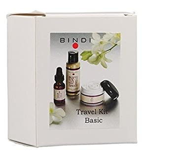 Bindi Trial Size Kit, Moisture Cream, Essential Oil And Herbal Facial Cleanser Powder - 3 Pc 2 Pack - LOreal Paris Age Perfect Hydra-Nutrition Eye Cream 0.5 oz