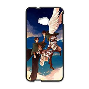 ATTACK ON TITAN theme pattern design For HTC ONE M7 Phone Case