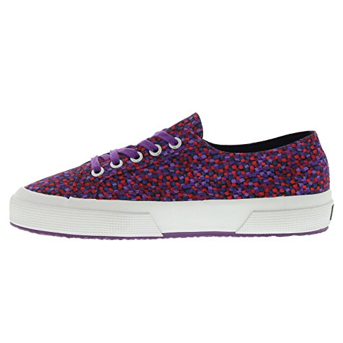 Superga 2750 Fabriclibertyw - Zapatillas Unisex adulto Purple (caos Violet Red)
