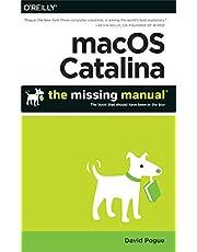 macOS Catalina: The Missing Manual