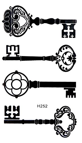Amazon Com Keys Temporary Tattoo Real Looking Wholesale Clothing